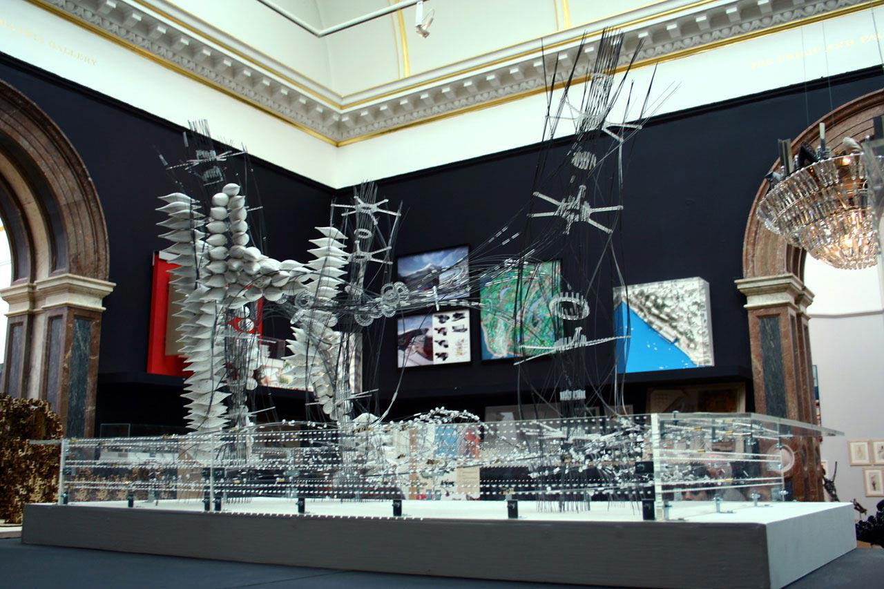 ///Shampoo Exhibit Model@ Royal Academy Summer Exhibition 2009///